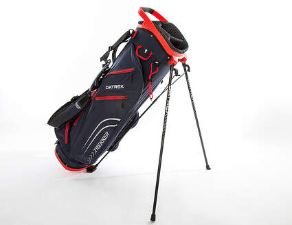 Brand New 10.0 Datrek Trekker Ultra Lite Navy/Red Stand Bag