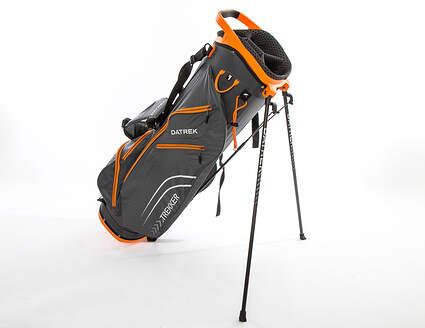 Brand New 10.0 Datrek Trekker Ultra Lite Charcoal/Orange Stand Bag