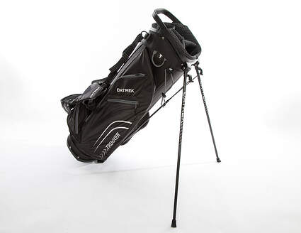 Brand New 10.0 Datrek Trekker Ultra Lite Black/Charcoal Stand Bag