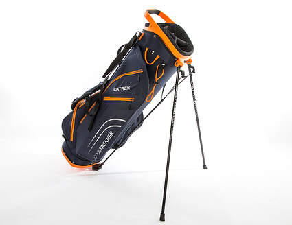 Brand New 10.0 Datrek Trekker Ultra Lite Navy/Charcoal/Orange Stand Bag