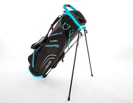 Brand New 10.0 Datrek Trekker Ultra Lite Black/Turquoise Stand Bag