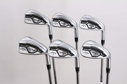 Callaway Apex CF16 Iron Set 5-PW FST KBS Tour Steel Regular Right Handed -2 Degrees Flat 38.0in