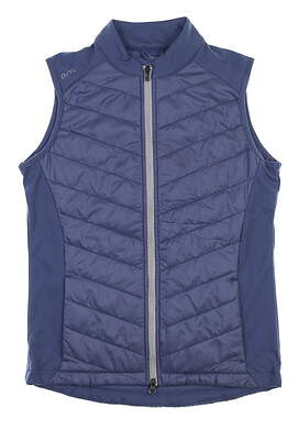 New Womens Ping Oslo Primaloft II Vest Small S Blue Indigo MSRP $95