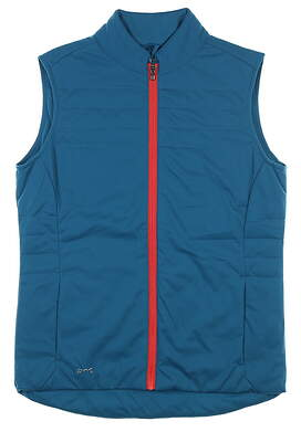 New Womens Ping Oslo Vest Small S Teal S93387 MSRP $95