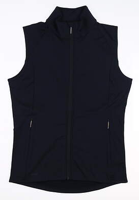 New Womens Ping Eva Vest Size 6 (Small) Navy Blue S93429 MSRP $70