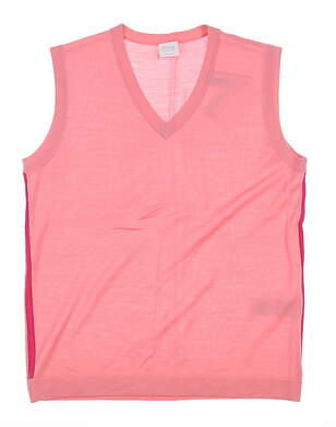New Womens Ping Sweater Vest Size 6 (Small) Pink MSRP $70