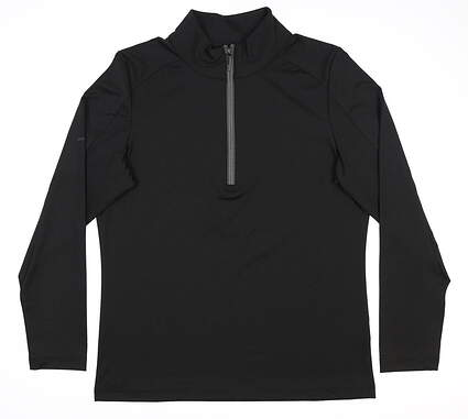 New Womens Ping Astrid 1/4 Zip Pullover Small S Black S93402 MSRP $79