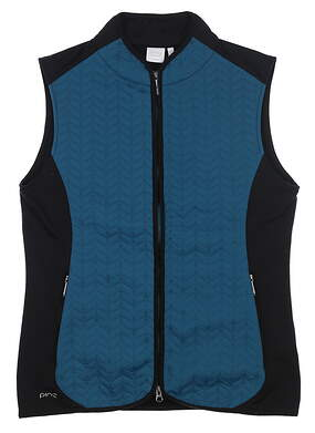New Womens Ping Freya Vest Size 6 (Small) Teal S93392 MSRP $80