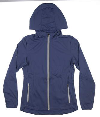 New Womens Ping Ria Jacket Size 6 (Small) Blue Indigo S93434 MSRP $90