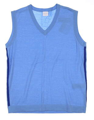 New Womens Ping Sweater Vest Small S Blue MSRP $70