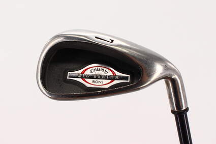 Callaway 2002 Big Bertha Single Iron 7 Iron Callaway RCH 75i Graphite Regular Right Handed 37.75in