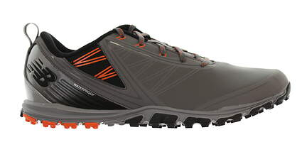 New Mens Golf Shoe New Balance Minimus SL Medium 10 Gray/Orange/Black NBG1006GRO MSRP $120