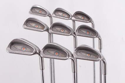 Ping Eye 2 Iron Set 2-PW Ping ZZ Lite Steel Regular Right Handed Orange Dot 38.0in