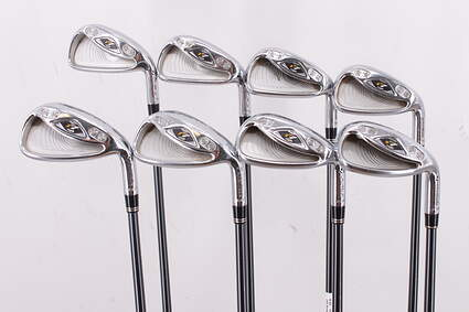 TaylorMade R7 CGB Iron Set 5-PW GW SW TM R7 55 Graphite Regular Right Handed 38.25in