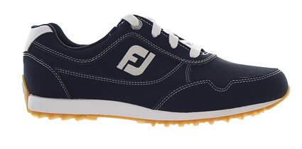 New Womens Golf Shoe Footjoy FJ Sport Retro Medium 8 Blue MSRP $115