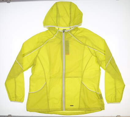 New Womens SUNICE Lucy Hooded Wind Jacket XX-Large XXL Green S52503 MSRP $80