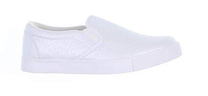 New Womens Golf Shoe Puma Tustin Slip On Medium 8 White 19224703 MSRP $69