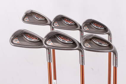 Ping G10 Iron Set 7-PW GW SW Ping TFC 129I Graphite Regular Right Handed Red dot 37.0in