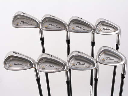 Titleist DCI 981 SL Iron Set 5-PW GW SW Titleist Ultralite Graphite Ladies Right Handed 37.0in