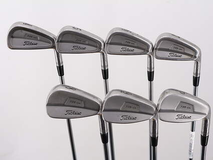 Titleist 735.CM Stainless Iron Set 4-PW Rifle 5.5 Steel Regular Right Handed 38.5in
