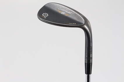 Titleist Vokey SM5 Raw Black Wedge Lob LW 60° 7 Deg Bounce S Grind Titleist SM5 BV Steel Wedge Flex Right Handed 35.0in