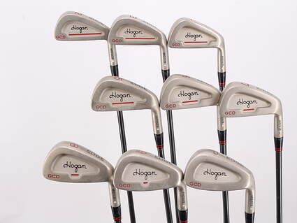Ben Hogan Edge GCD Iron Set 2-PW Hogan Apex 5 Steel Steel Regular Right Handed 38.5in