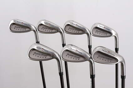 TaylorMade Supersteel Iron Set 5-PW SW TM Bubble 90 Graphite Stiff Right Handed 38.25in