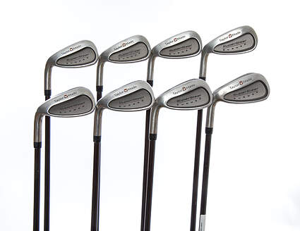 TaylorMade Supersteel Iron Set 3-PW TM Bubble Graphite Regular Left Handed 38.25in