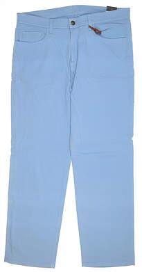 New Mens Straight Down Clemson Pants 36x32 Blue 50122 MSRP $195
