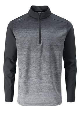 New Mens Ping Fracture 1/4 Zip Pullover Large L Black P03349 MSRP $109