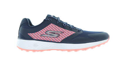 New Womens Golf Shoe Skechers Go Golf Eagle Lead 7 Navy/Pink 14864 MSRP $74