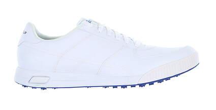 New Mens Golf Shoe Skechers Go Golf Drive Classic 13 White 54530 MSRP $90