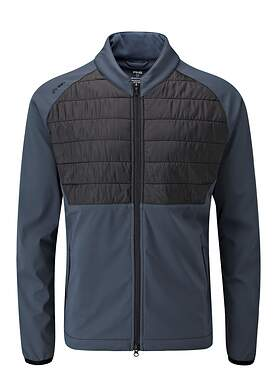New Mens Ping Norse Primaloft Zoned Jacket Large L Blue Graphite/ Black P03318 MSRP $179