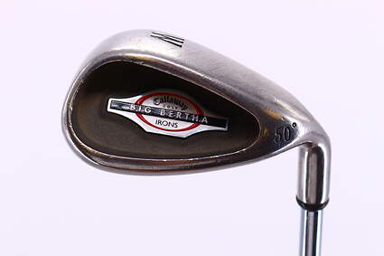 Callaway 2002 Big Bertha Wedge Gap GW 50° True Temper TT Lite XL Steel Stiff Right Handed 37.75in