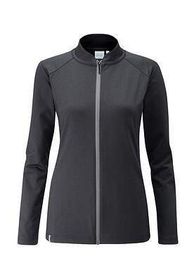 New Womens Ping Eidi Full Zip Size 2 (X-Small) Black P93393 MSRP $129