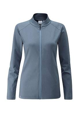 New Womens Ping Eidi Full Zip Size 2 (X-Small) Dark Citadel P93393 MSRP $129