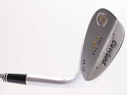 Cleveland 2012 588 Satin Wedge Sand SW 54° 12 Deg Bounce True Temper Tour Concept Steel Wedge Flex Right Handed 35.5in