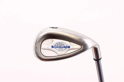 Callaway X-14 Single Iron Pitching Wedge PW 46.5° Callaway Stock Graphite Graphite Regular Right Handed 35.75in