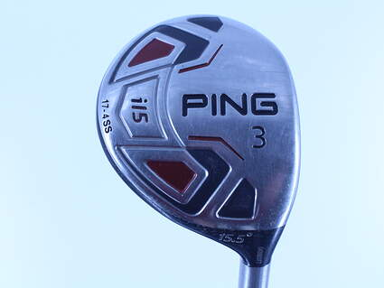 Ping i15 Fairway Wood 3 Wood 3W 15.5° Ping TFC 700F Graphite Stiff Right Handed 43.0in