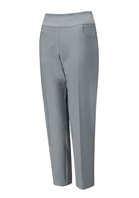 New Womens Ping Adele Cropped Pants 10 Light Asphalt P93400 MSRP $79