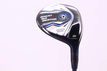 Callaway 2015 Great Big Bertha Womens Fairway Wood 7 Wood 7W 20° Mitsubishi Bassara E-Series 42 Graphite Ladies Right Handed 42.0in