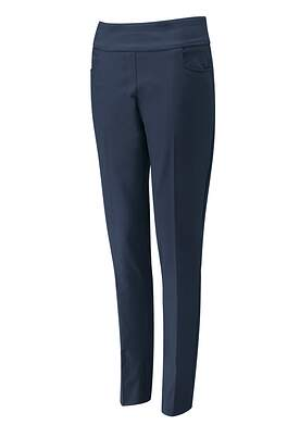 New Womens Ping Ada Trouser 8L Navy Blue P93445 MSRP $99