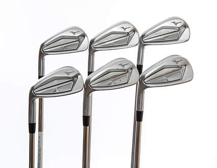 Mint Mizuno JPX 919 Forged Iron Set 5-PW FST KBS S-Taper Steel Stiff Left Handed 38.25in