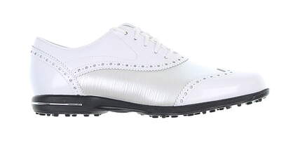 New Womens Golf Shoe Footjoy Tailored Collection Medium 6.5 White 91686 MSRP $149