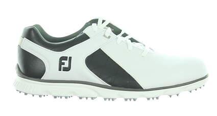 New Mens Golf Shoe Footjoy Pro SL Medium 12 White/Black 53220 MSRP $175
