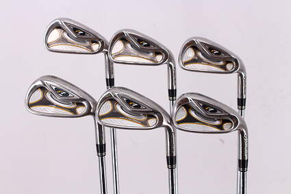 TaylorMade R7 Iron Set 5-PW TM T-Step 90 Steel Regular Right Handed 38.0in