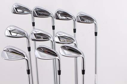 Mint Mizuno JPX 919 Hot Metal Iron Set 4-PW GW SW LW FST KBS Tour C-Taper Lite Steel Regular Right Handed 38.25in