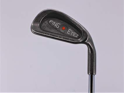 Ping Eye 2 + Single Iron 4 Iron Ping KT-M Steel Uniflex Right Handed Orange Dot 38.0in