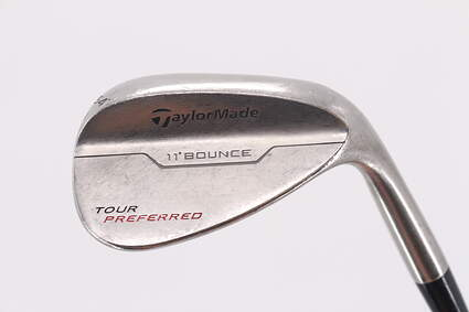 TaylorMade 2014 Tour Preferred Bounce Wedge Sand SW 54° 11 Deg Bounce FST KBS Tour-V Steel Wedge Flex Right Handed 35.5in