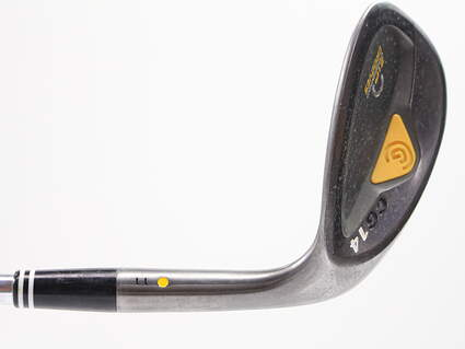 Cleveland CG14 Gunmetal Wedge Sand SW 56° 11 Deg Bounce Cleveland Traction Wedge Steel Wedge Flex Right Handed 35.5in